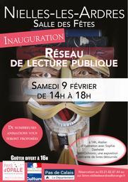 Inauguration Réseau de Lecture Publique Pays d'Opale  