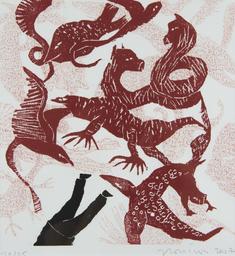 Les monstres : techniques d'illustration | Calleja, Audrey (1982-....). Illustrateur