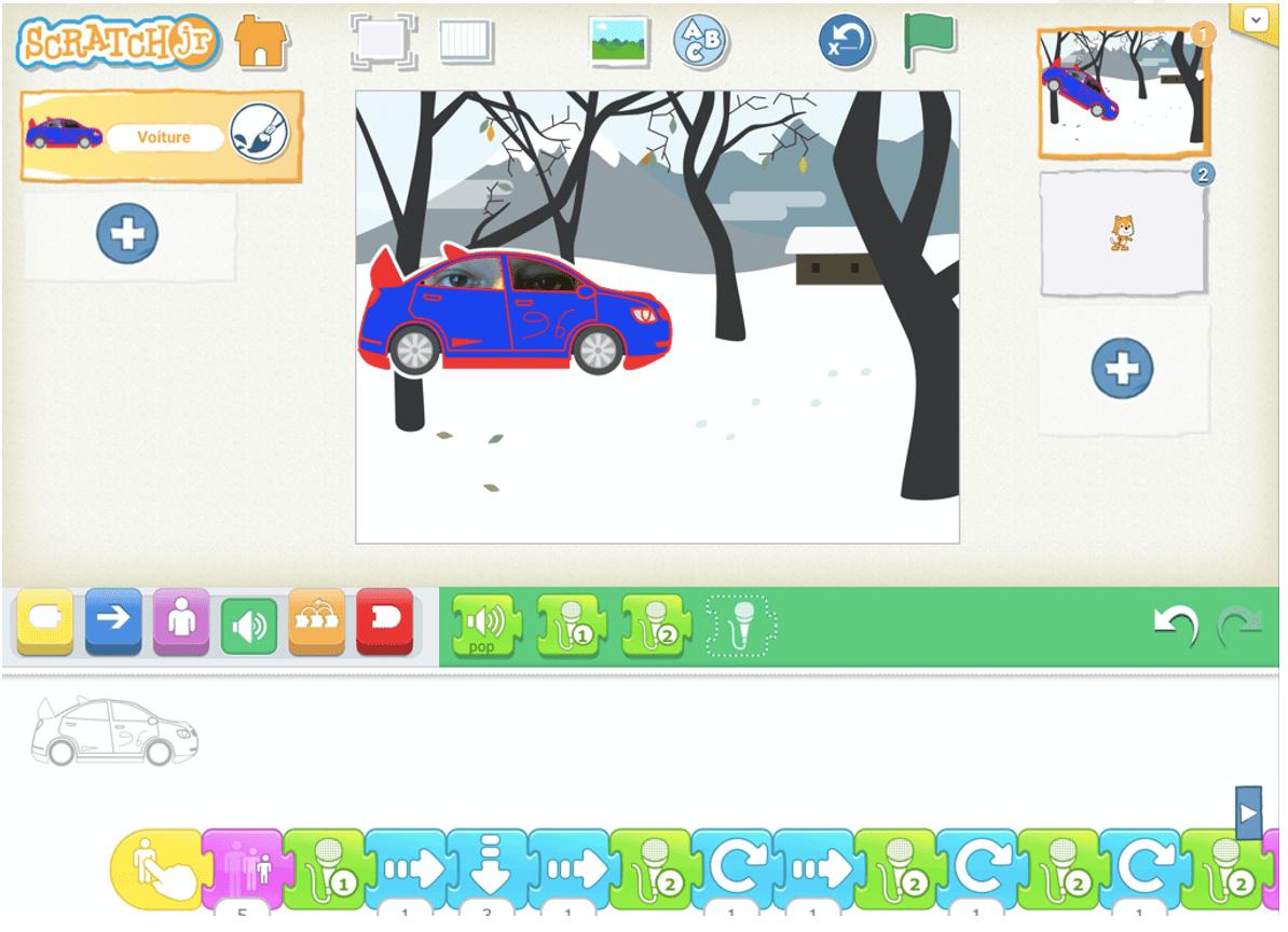La création d'histoires animées et de jeux vidéo avec Scratch, en bibliothèque : une approche ludique pour bien débuter  |