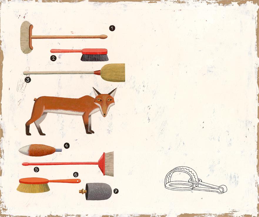 Martin Jarrie illustre les Fables de la Fontaine |